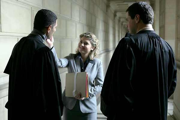 Legal Aid : Bild Hannelore Cayre, Mathias Mlekuz, Roschdy Zem, Sophie Guillemin