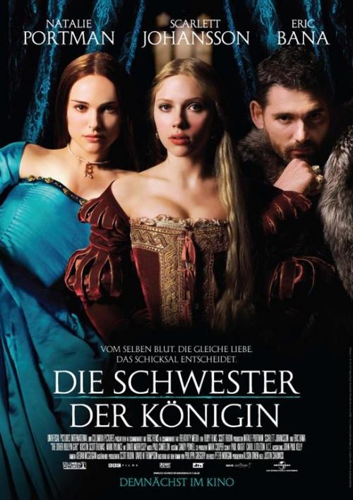 Die Schwester der Königin : Kinoposter