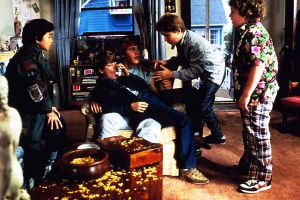 Die Goonies : Bild Corey Feldman, Jeff Cohen, Jonathan Ke Quan, Sean Astin