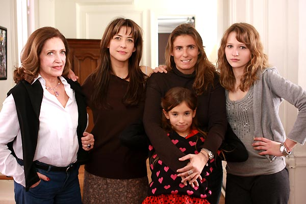 LOL : Bild Christa Théret, Françoise Fabian, Lisa Azuelos, Sophie Marceau, Thaïs Alessandrin