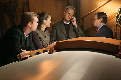 Navy CIS : Bild Cote De Pablo, David McCallum, Mark Harmon, Sean Murray