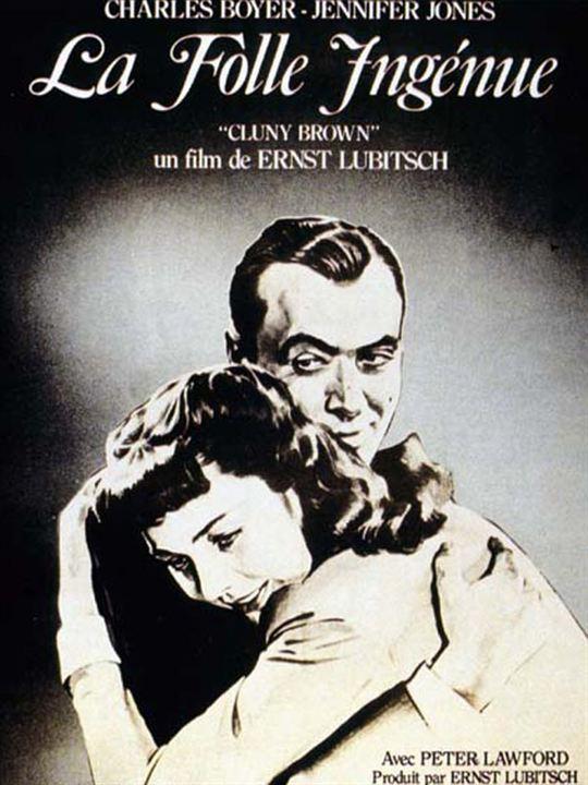 Cluny Brown auf Freiersfüßen : Kinoposter Charles Boyer, Jennifer Jones