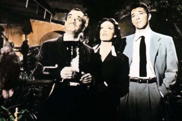 Mörder ohne Maske : Bild Linda Darnell, Robert Mitchum, Rudolph Maté