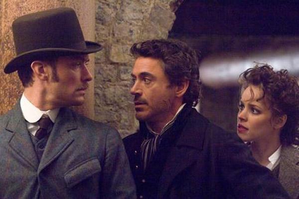 Sherlock Holmes : Bild Jude Law, Rachel McAdams, Robert Downey Jr.
