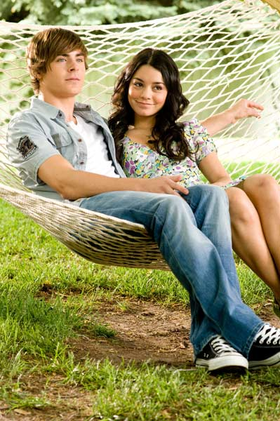 High School Musical 3 : Bild Kenny Ortega, Vanessa Hudgens, Zac Efron