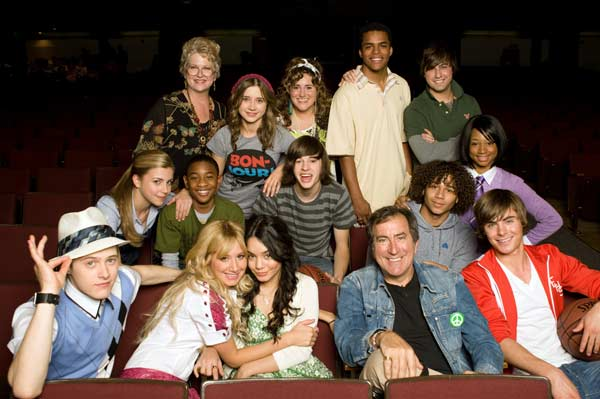 High School Musical 3 : Bild Alyson Reed, Ashley Tisdale, Corbin Bleu, Jemma McKenzie-Brown, Kenny Ortega