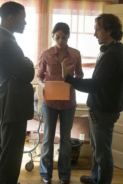Sieben Leben : Bild Gabriele Muccino, Rosario Dawson, Will Smith