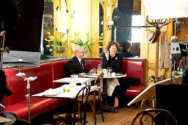 Julie & Julia : Bild Meryl Streep, Nora Ephron, Stanley Tucci