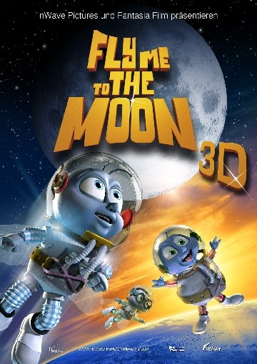 Fly Me To The Moon 3D : Kinoposter