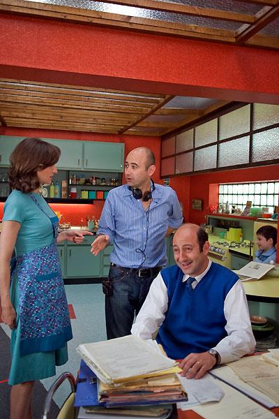 Der kleine Nick : Bild Kad Merad, Laurent Tirard, Valérie Lemercier