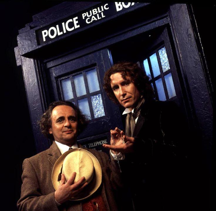 Doctor Who : Bild Paul McGann, Sylvester McCoy