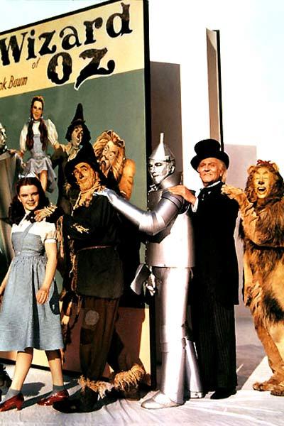 Der Zauberer von Oz : Bild Bert Lahr, Frank Morgan, Jack Haley, Judy Garland, Ray Bolger