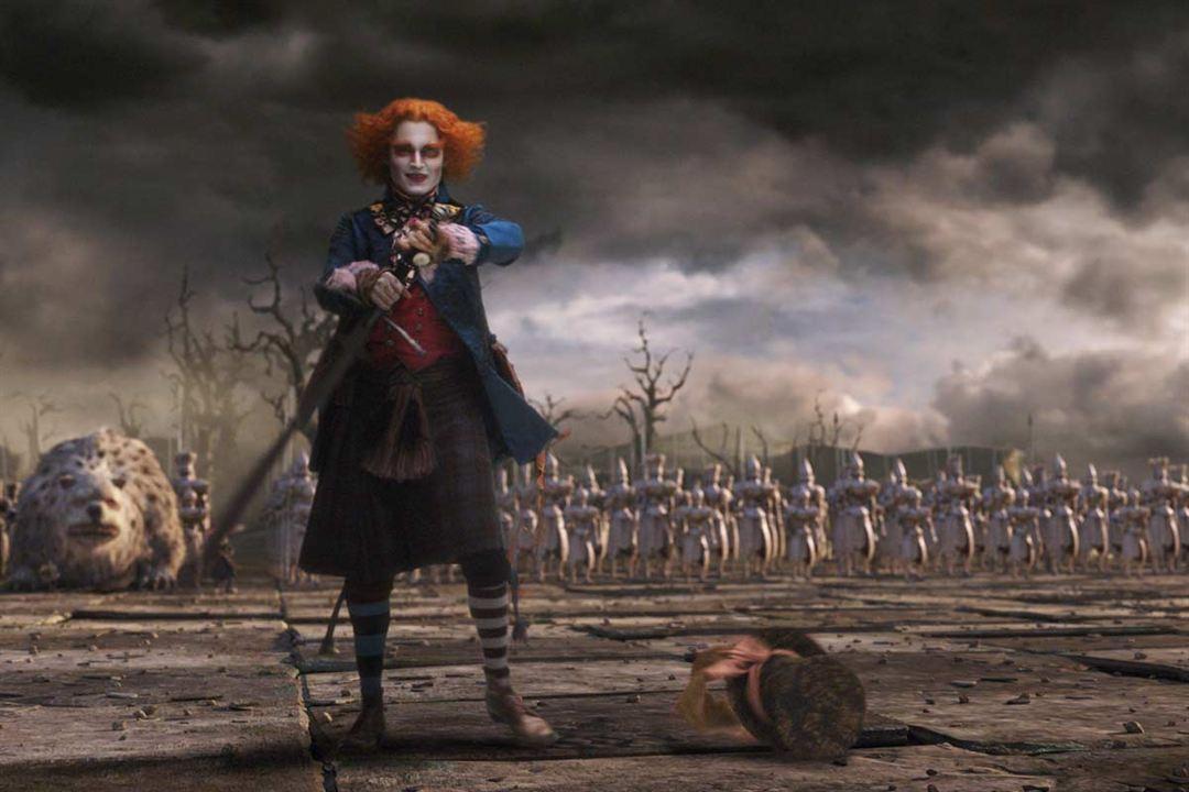 Alice im Wunderland : Bild Johnny Depp