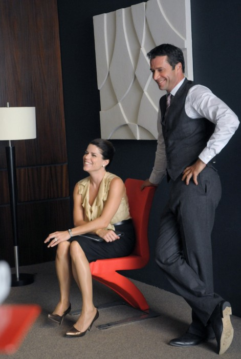 The Philanthropist : Bild James Purefoy, Neve Campbell