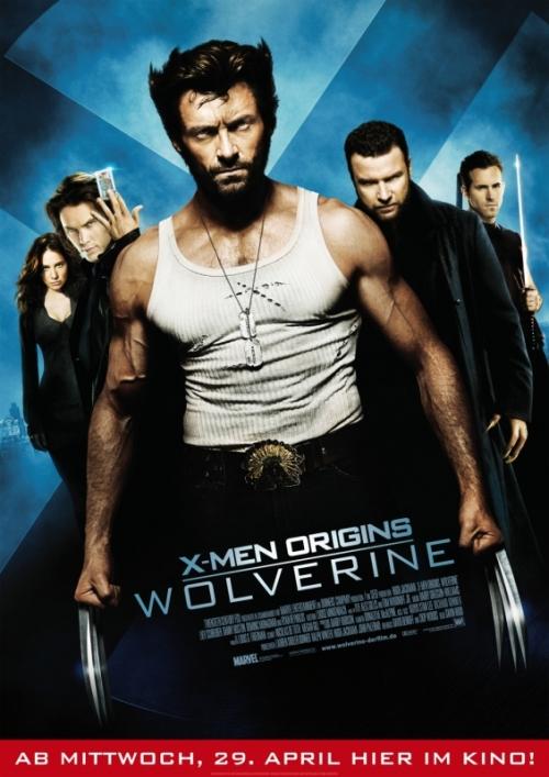 X-Men Origins: Wolverine : Kinoposter