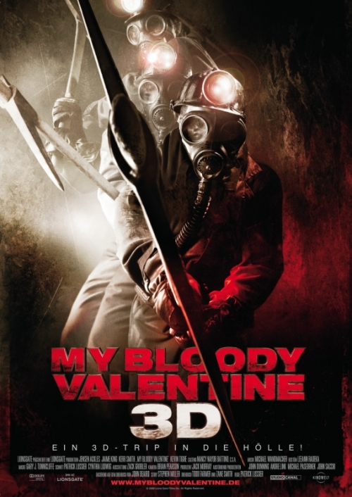 My Bloody Valentine 3D : Kinoposter