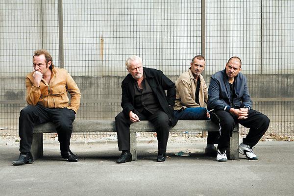 Ein Prophet : Bild Antoine Basler, Gilles Cohen, Jean-Philippe Ricci, Niels Arestrup