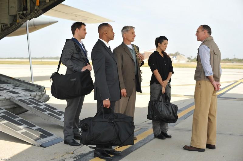 Navy CIS : Bild Arnold Vosloo, Cote De Pablo, Mark Harmon, Michael Weatherly, Rocky Carroll
