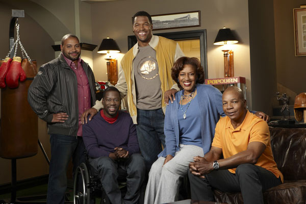 Bild Carl Weathers, CCH Pounder, Colton Dunn, Daryl Mitchell, Michael Strahan