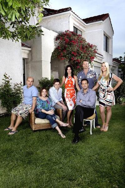 Cougar Town - 40 ist das neue 20 : Bild Brian Van Holt, Busy Philipps, Christa Miller-Lawrence, Courteney Cox, Dan Byrd