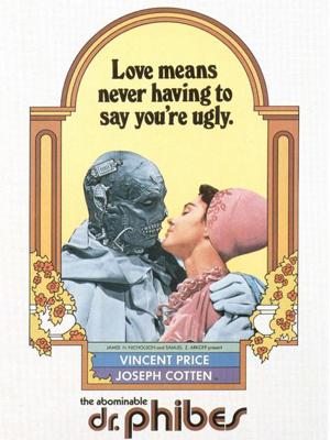 Das Schreckenskabinett des Dr. Phibes : Kinoposter