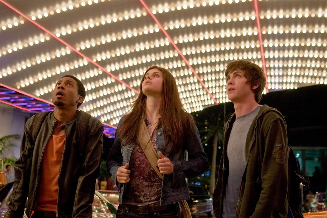 Percy Jackson - Diebe im Olymp : Bild Alexandra Daddario, Brandon T. Jackson, Logan Lerman