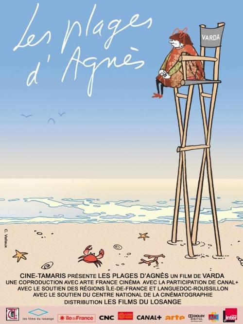 Die Strände von Agnès : Kinoposter