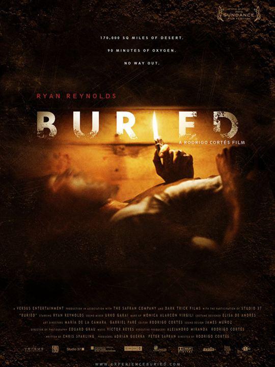 Buried - Lebend begraben : Kinoposter Rodrigo Cortés