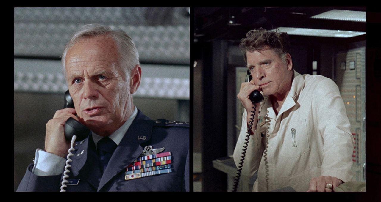 Todeskommando Feuerblitz Ultimatum : Bild Burt Lancaster, Leif Erickson
