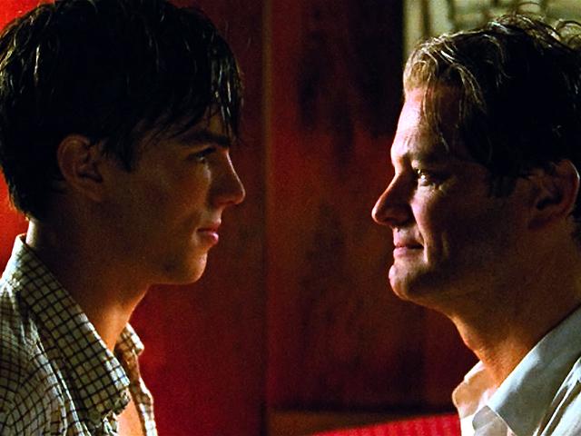 A Single Man : Bild Colin Firth, Nicholas Hoult