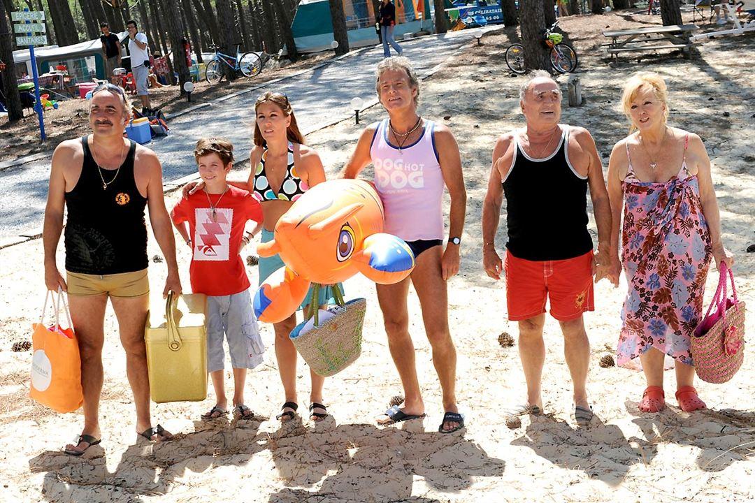 Camping 2 : Bild Antoine Duléry, Claude Brasseur, Franck Dubosc, Mathilde Seigner, Mylène Demongeot