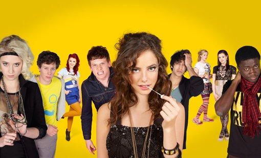 Skins - Hautnah : Bild Jack O'Connell, Kathryn Prescott, Kaya Scodelario, Lily Loveless, Luke Pasqualino