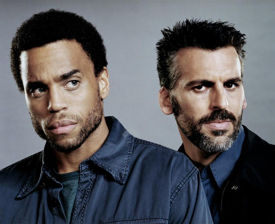 Sleeper Cell : Bild Michael Ealy, Oded Fehr