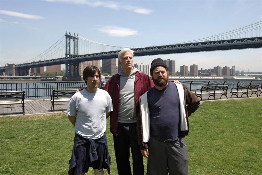 Bored To Death : Bild Jason Schwartzman, Ted Danson, Zach Galifianakis