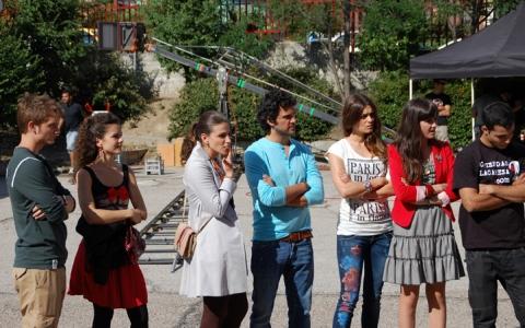 Bild Alex Batllori, Juan Pablo Di Pace, Lorena Mateo, Olivia Molina