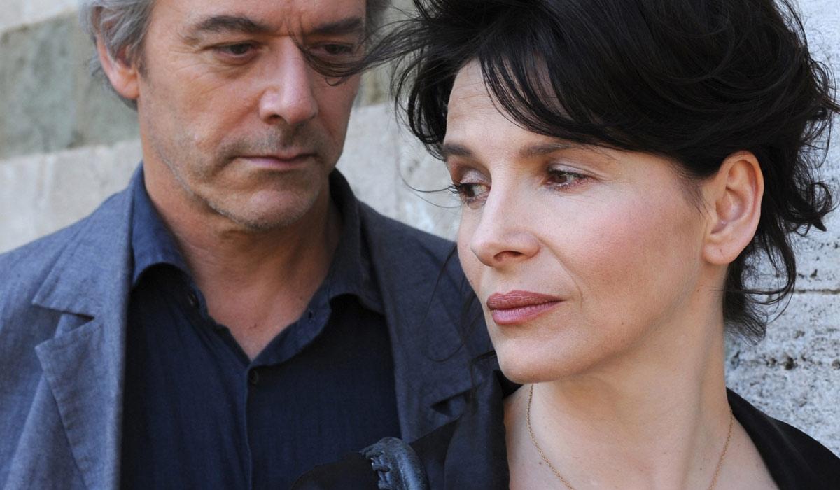 Die Liebesfälscher : Bild Juliette Binoche, William Shimell