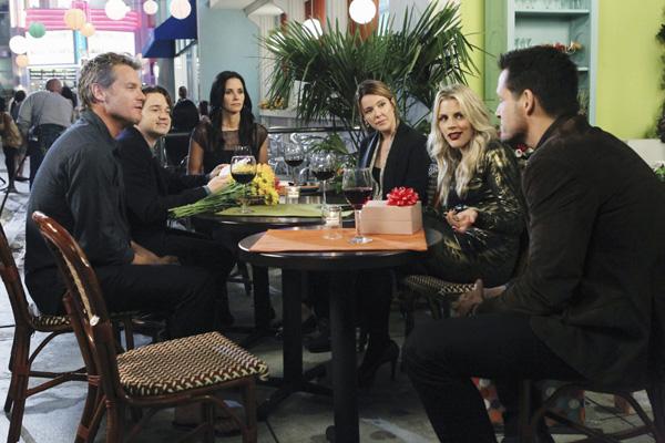 Cougar Town - 40 ist das neue 20 : Bild Busy Philipps, Christa Miller-Lawrence, Courteney Cox, Dan Byrd, Josh Hopkins