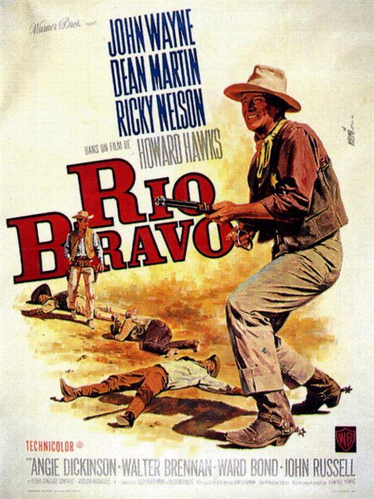 Rio Bravo : Kinoposter