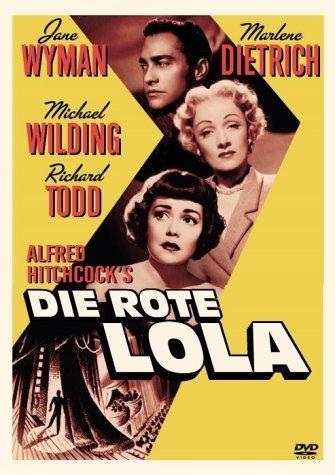 Die rote Lola : Kinoposter