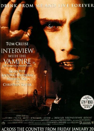 Interview mit einem Vampir - Aus der Chronik der Vampire : Kinoposter