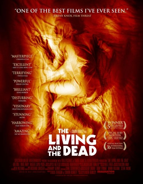 The Living and the Dead : Kinoposter