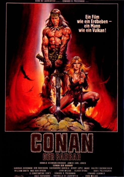 Conan - Der Barbar : Kinoposter