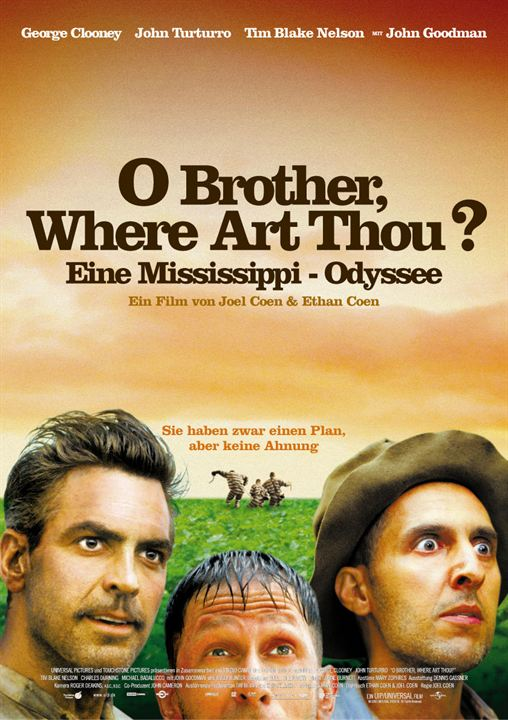 O Brother, Where Art Thou? : Kinoposter