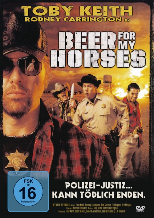 Beer for My Horses : Kinoposter