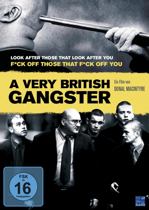 A Very British Gangster : Kinoposter