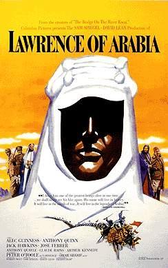 Lawrence von Arabien : Kinoposter