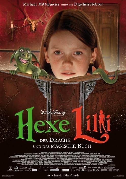 Hexe Lilli - Der Drache und das magische Buch : Kinoposter