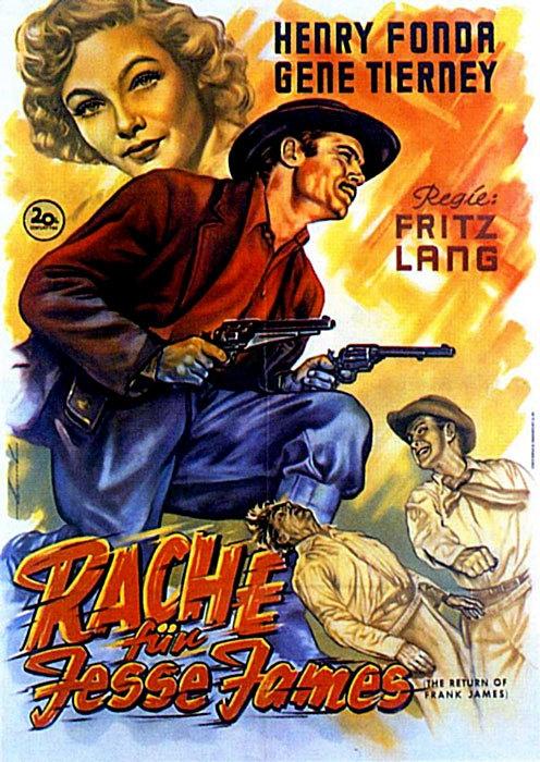 Rache für Jesse James : Kinoposter