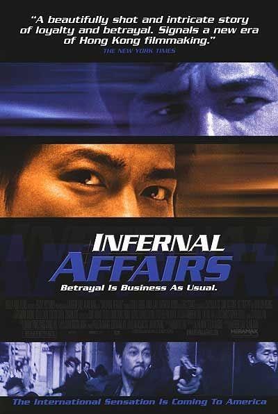 Infernal Affairs : Kinoposter