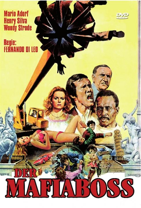Der Mafiaboss : Kinoposter